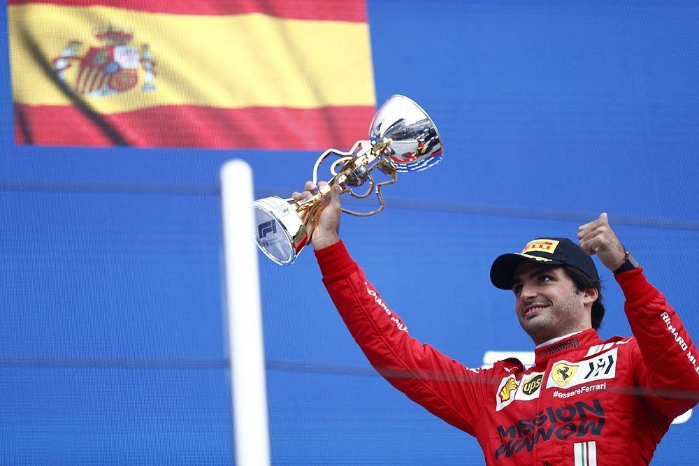 Sainz: Russian GP my best weekend so far with Ferrari