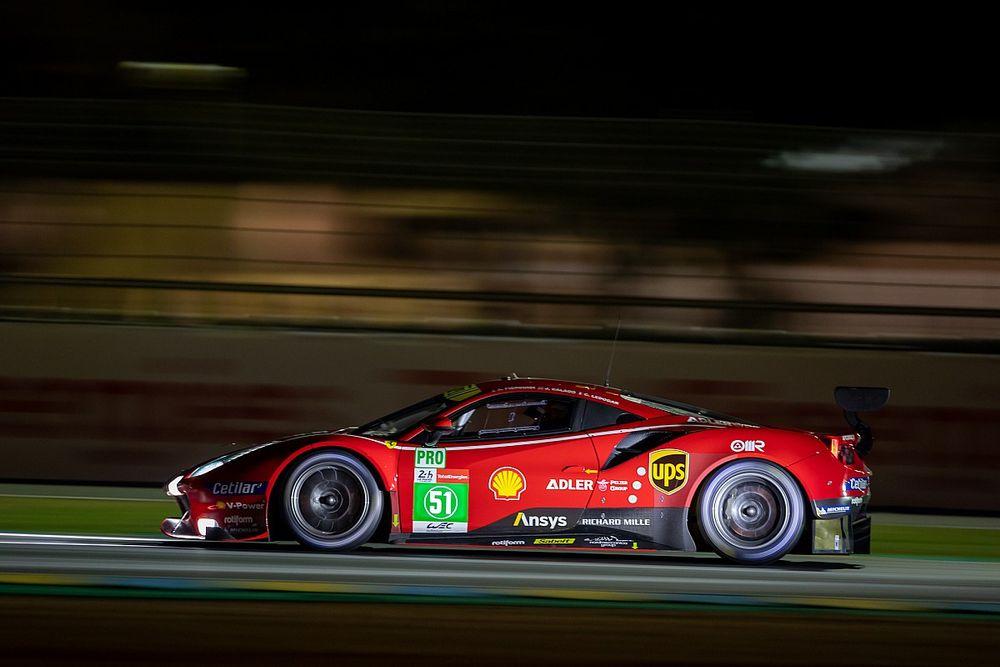 Sorpresa en Ferrari por un cambio en el BoP antes de Le Mans