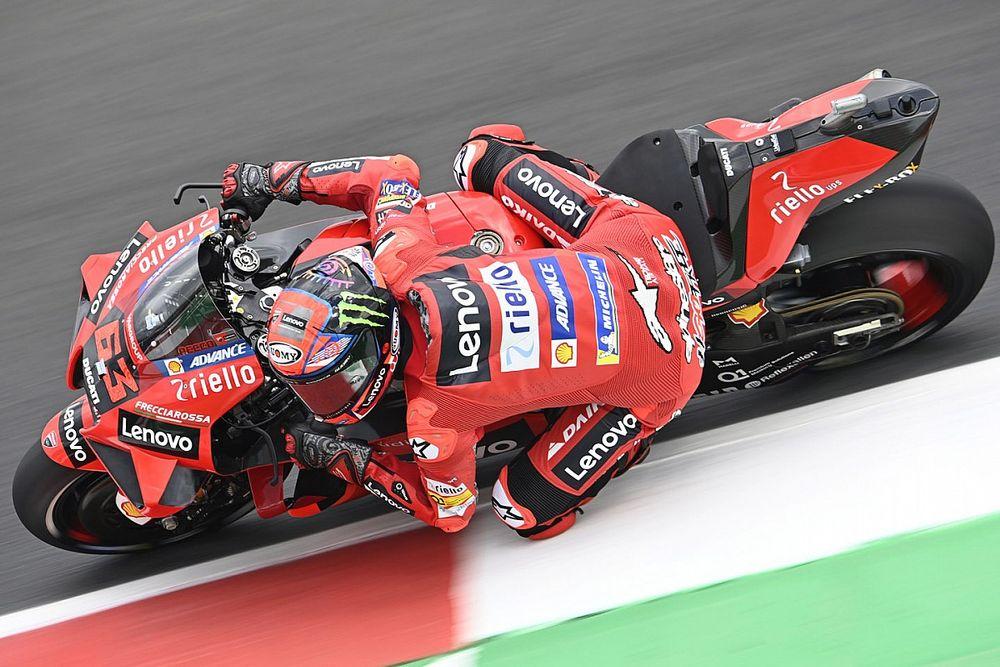 Bagnaia topt derde training GP van San Marino voor Quartararo
