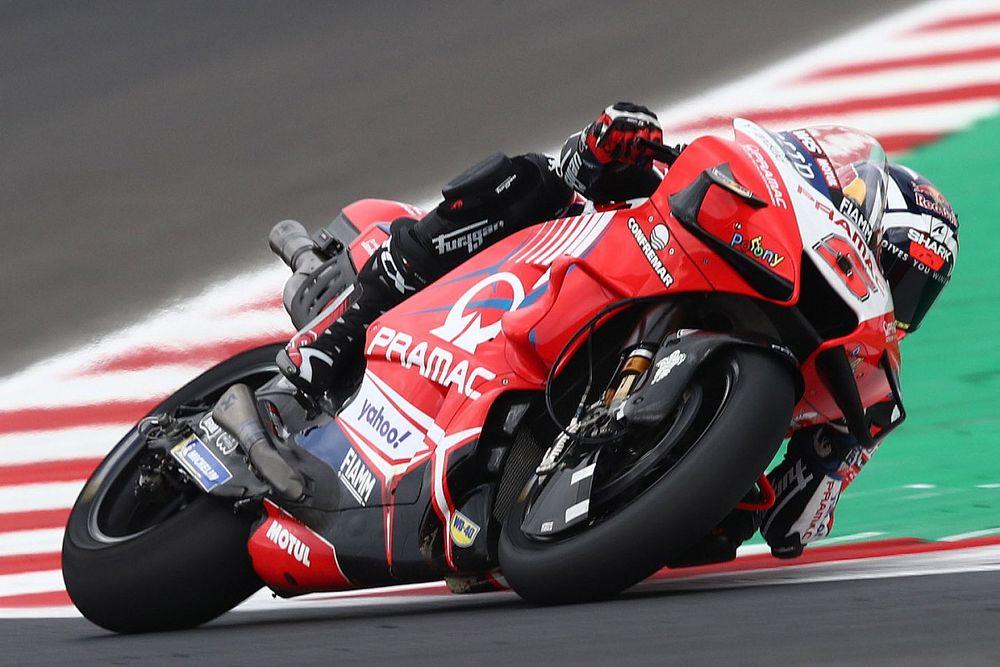 Misano MotoGP 2. antrenman: Islak zeminde Zarco lider, Quartararo zorlandı