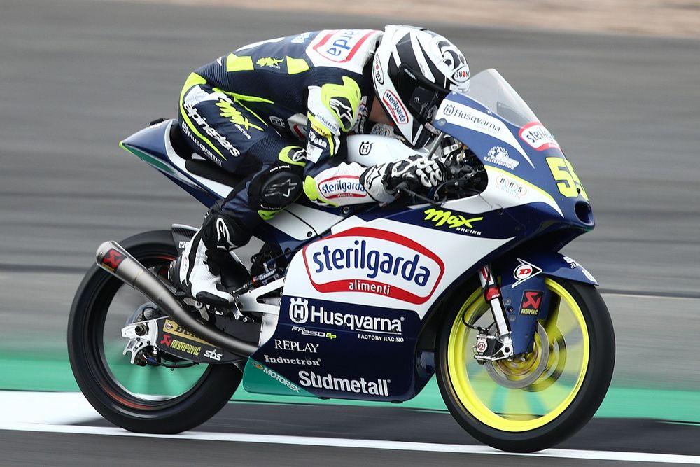Hasil FP3 Moto3 Inggris: Romano Fenati Belum Terkalahkan