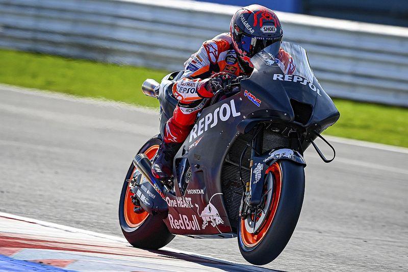 """MotoGP: Márquez diz que Honda de 2022 terá """"conceito bastante diferente"""""""