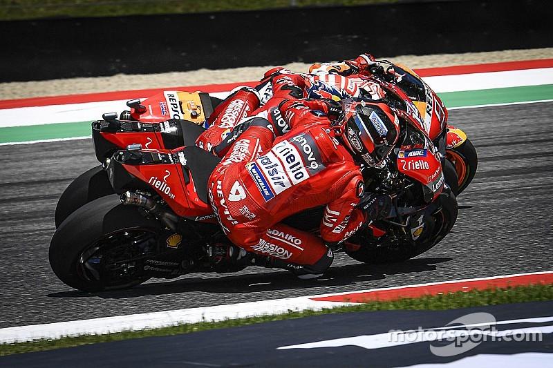Veja vídeos e fotos da espetacular volta final do GP da Itália da MotoGP