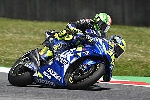 """Mir: """"Al principio era especial rodar detrás de Rossi, ahora me da rabia"""""""