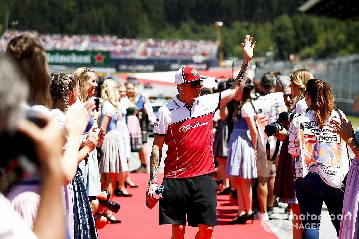 Räikkönen hollywoodi filmsztárként feszít