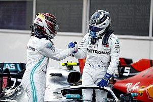 """Mercedes tiene preparadas """"tarjetas amarillas y rojas"""" para Bottas y Hamilton"""