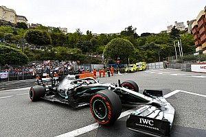 Hamilton manda en unos movidos libres 1 del GP de Mónaco
