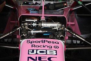 Racing Point добавила в конструкцию передней подвески «лишний» амортизатор