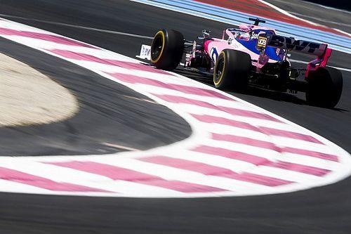A Racing Pointnak nagyon nem fekszenek a francia körülmények