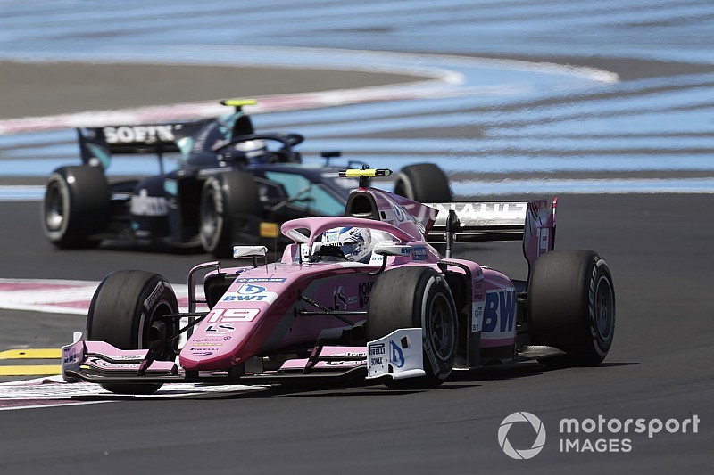 F2フランス・レース2:ユベールがポール・トゥ・ウィン。松下信治はFLポイント獲得