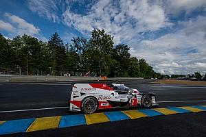 24 uur Le Mans: Toyota domineert, Van Uitert demonstreert