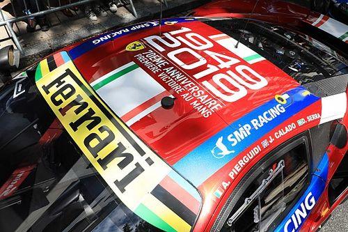 Ferrari recuerda su primera victoria en Le Mans con una decoración especial