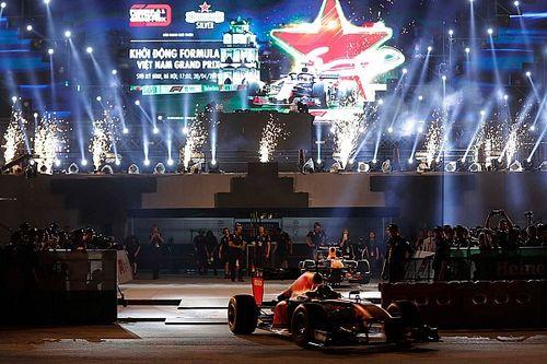 Videos y fotos: Red Bull recorre por primera vez las calles de Hanoi