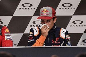 Dilanda sakit demam, Marquez tak maksimal