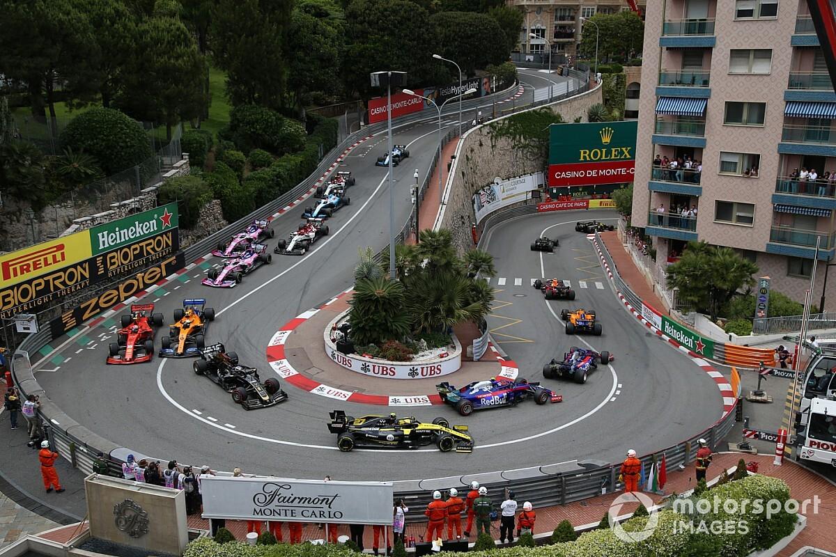 Monaco, GP için pist kurulumuna başlıyor!