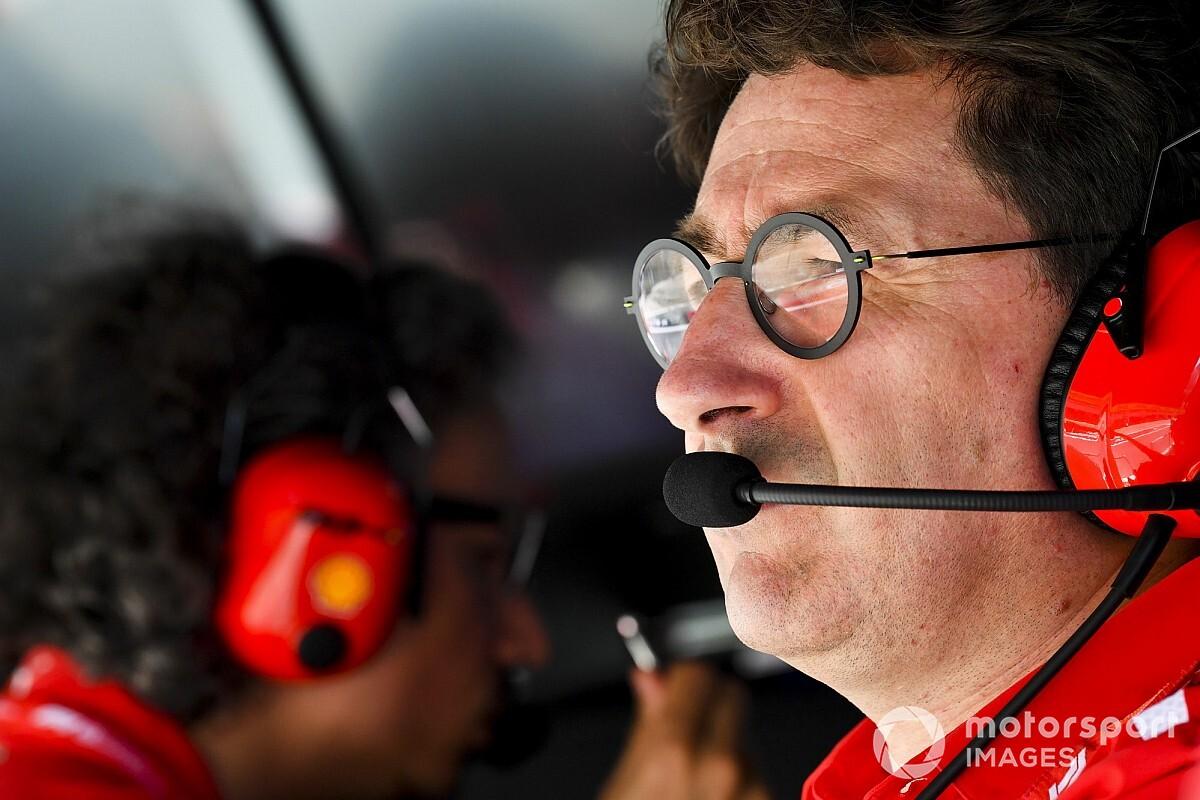 """Binotto: """"Leclerc portato fuori pista, le regole sono chiare. La decisione è semplice"""""""