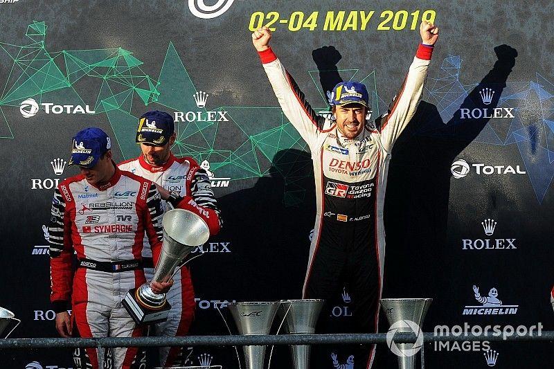 Alonso se délecte du gros coup réalisé au championnat