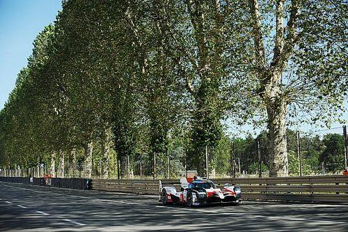 El Toyota de Alonso comienza liderando el test de Le Mans