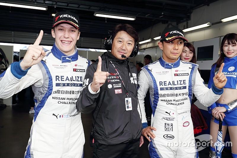 Fenestraz, con la pole en Fuji para Súper GT300