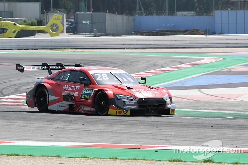 Norisring, Libere 2: ancora Audi davanti, Duval precede Rockenfeller