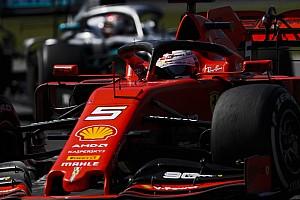 Kilassítva a videó: Vettel nézte a tükröt és láthatta Hamiltont