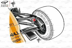 McLaren: niente sospensione anteriore con il doppio bracket in Austria