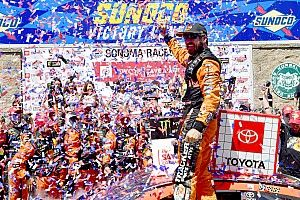 Martin Truex Jr. fends off teammate Kyle Busch for Sonoma victory
