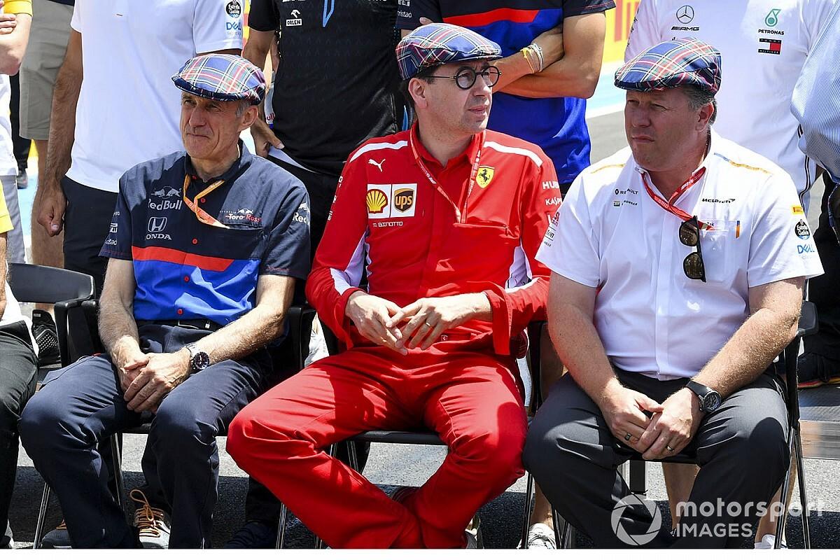 Binotto ve a Ferrari en el camino correcto, pese al 8 de 8 de Mercedes