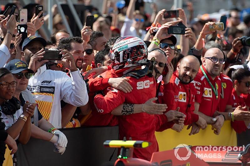 Leclerc állítja: Nem szóltak neki Vettel büntetéséről