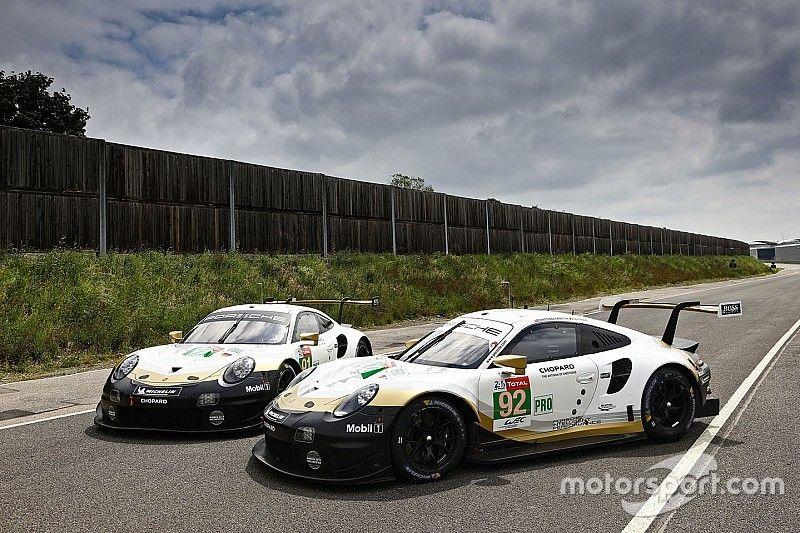 Porsche celebra el título del WEC con una decoración especial para Le Mans
