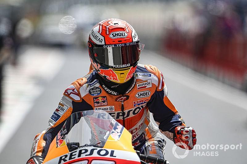 Barcelona MotoGP: Marquez leads Quartararo in FP1