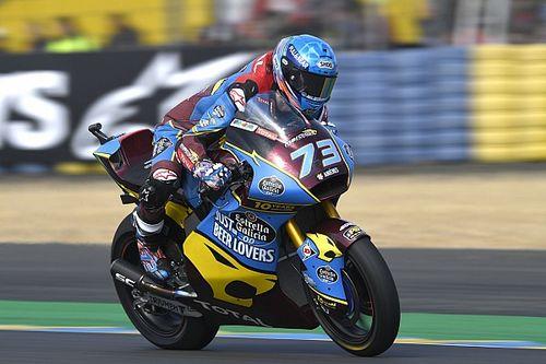 VÍDEO: Álex Márquez dá 'salvada' espetacular e evita a queda na Moto2