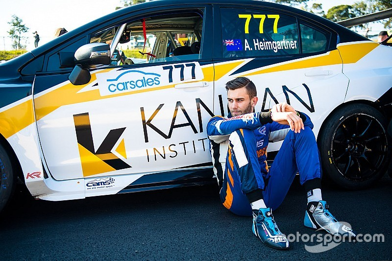 Rallying contact key to Heimgartner's TCR turnaround