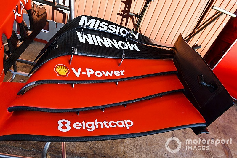 Ferrari to stick with current front wing concept