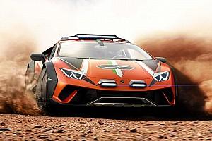 Lamborghini «запланувала» випускати позашляховий Huracan Sterrato