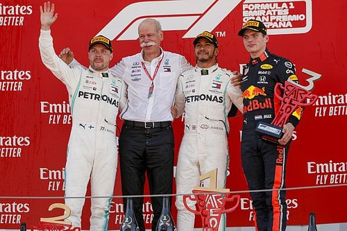 GP Spanyol: Hamilton perkasa, Ferrari luar podium