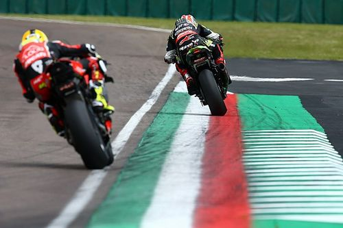 Ducati a dû s'incliner face à Kawasaki et Rea à Imola