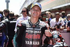 Barcelona MotoGP: Quartararo beats Marquez to pole by 0.015s