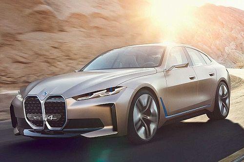 BMW Concept i4, elektrikli 4 Serisi Gran Coupe'yi işaret ediyor