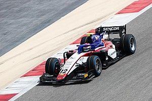 F2バーレーンテスト初日:ピケが最速、松下が2番手で続く。角田もトップ10入り
