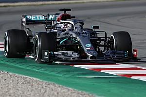 A Mercedes a W11 kiismerésével töltötte a napját