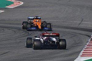 Las mejores fotos del cuarto día de la pretemporada de la F1 2020