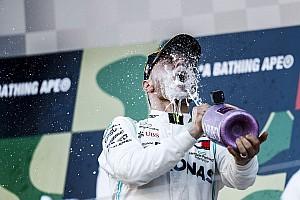 Képekben Bottas nagy öröme Japánból: A 6. F1-es győzelem