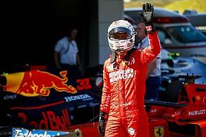 Vettel ve alejarse la sombra de la suspensión