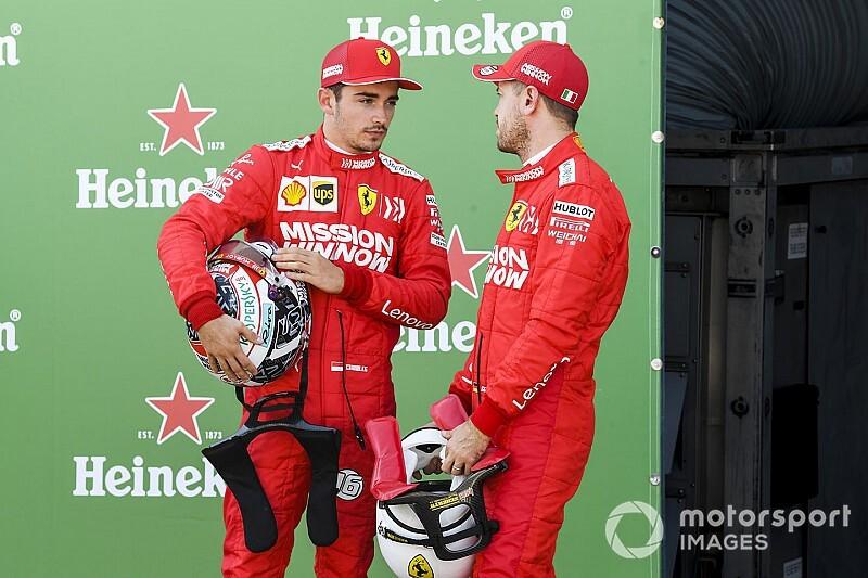 15 másodperces időbüntetést kapott Leclerc: a Ferrari pénzbírságot