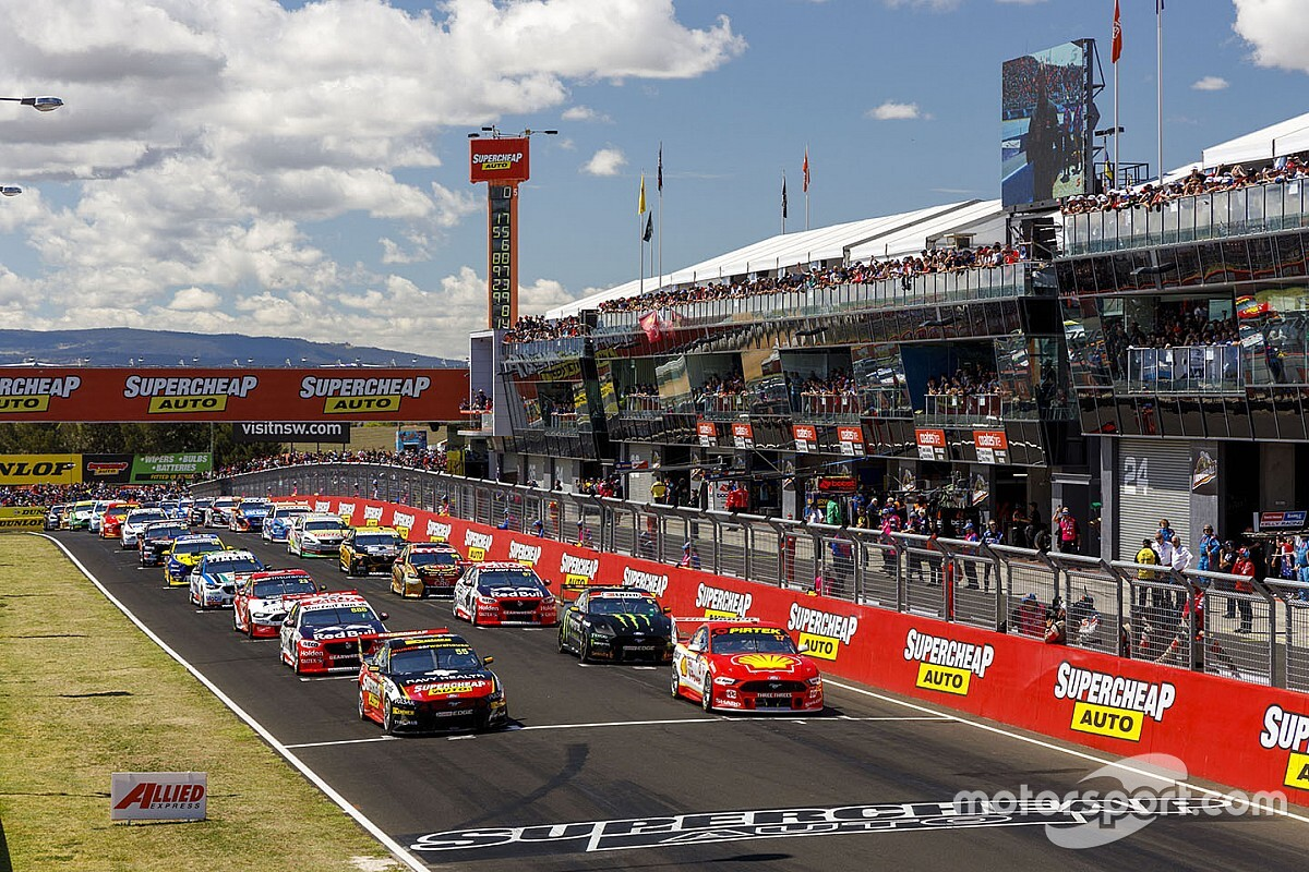 Bathurst 1000 field nearing completion