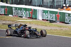 Így dobta el Magnussen a Haast a japán időmérőn: fal lett a vége