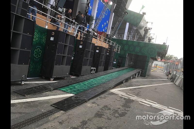 Fel fogják vinni a dobogóra a győztes F1-es autót Mexikóban