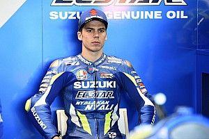 Гонщик Suzuki пожаловался на проблемы с дыханием после аварии на 300 км/ч