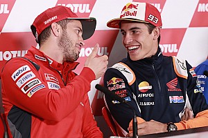 """Dovizioso: """"Il rinnovo di Marquez? Io pensavo cambiasse aria!"""""""